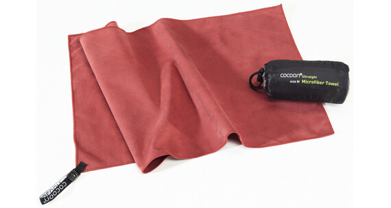 Cocoon Microfiber Towel Asciugamano Ultralight X-Large rosso